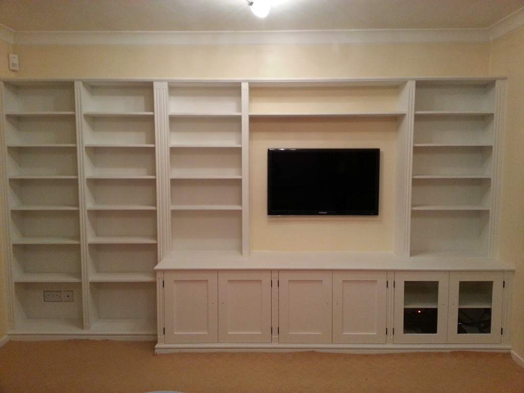 Bespoke Cupboards Bookcases Cabinets Nk West Carpentry With Bespoke Cupboards (Image 3 of 15)
