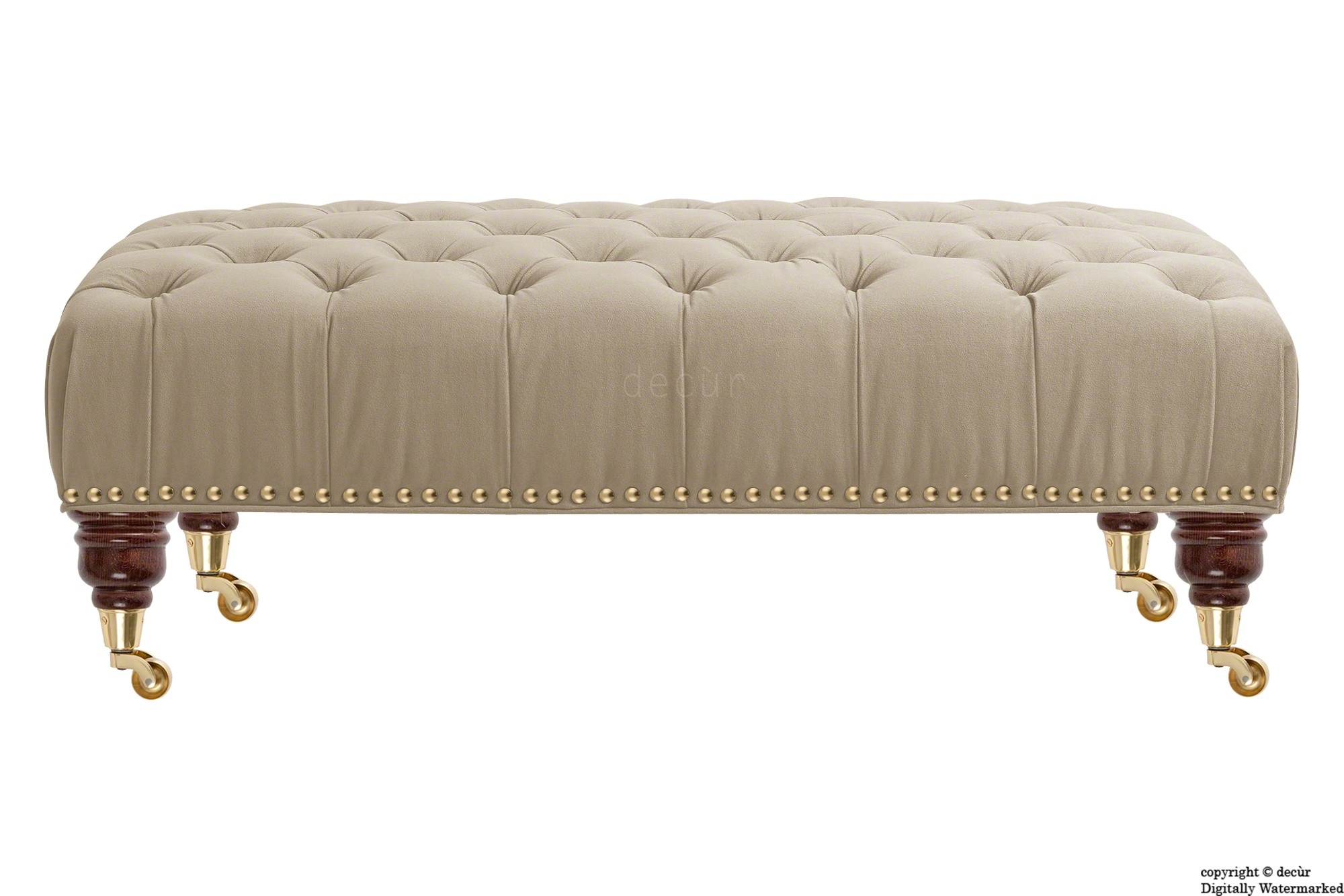 Bespoke Designer Sofas Footstools Bespoke Footstools Bespoke Throughout Velvet Footstool (Image 4 of 15)