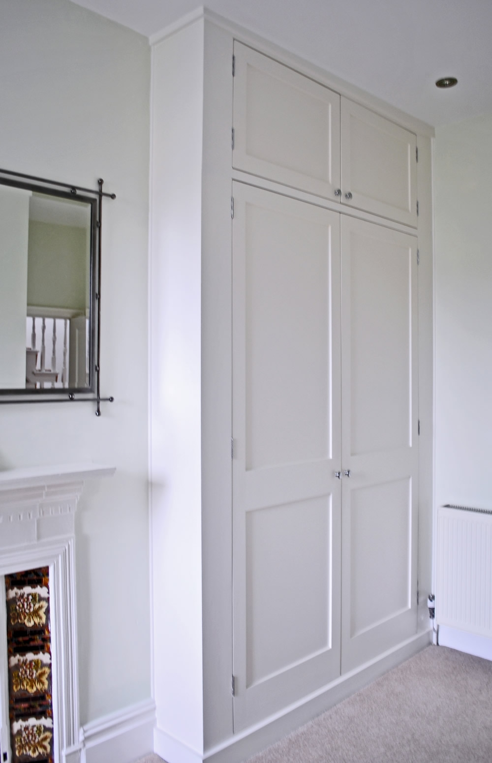 Bespoke Fitted Wardrobes And Cupboards London Alcove Company Intended For Bespoke Cupboards (Image 5 of 15)