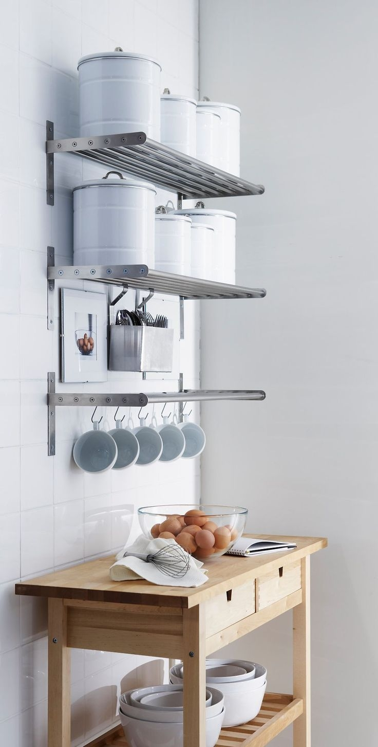 Best 10 Kitchen Wall Shelves Ideas On Pinterest Open Shelving For Kitchen Wall Shelves (Image 2 of 15)