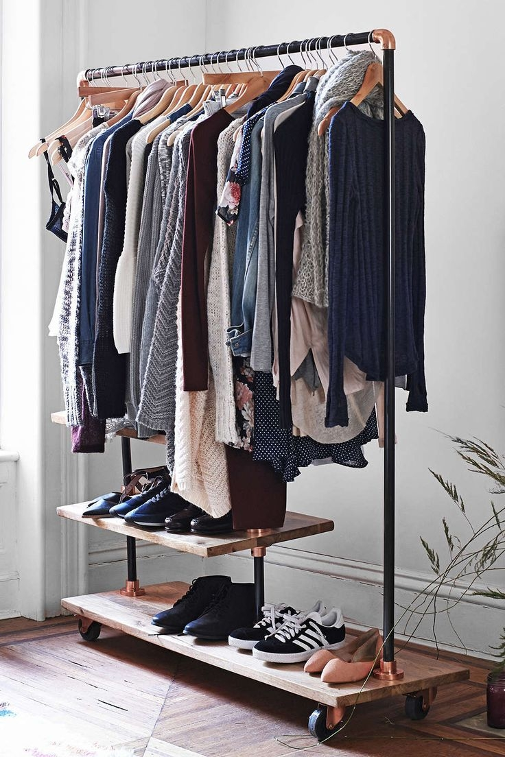 Best 20 Clothes Storage Systems Ideas On Pinterest Small Throughout Wardrobe Hangers Storages (Image 8 of 25)