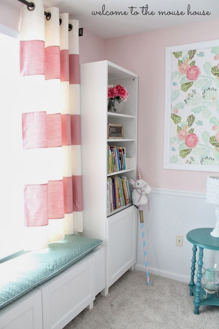 Best 20 Girls Room Curtains Ideas On Pinterest Kids Room Throughout Bedroom Curtains For Girls (View 15 of 25)