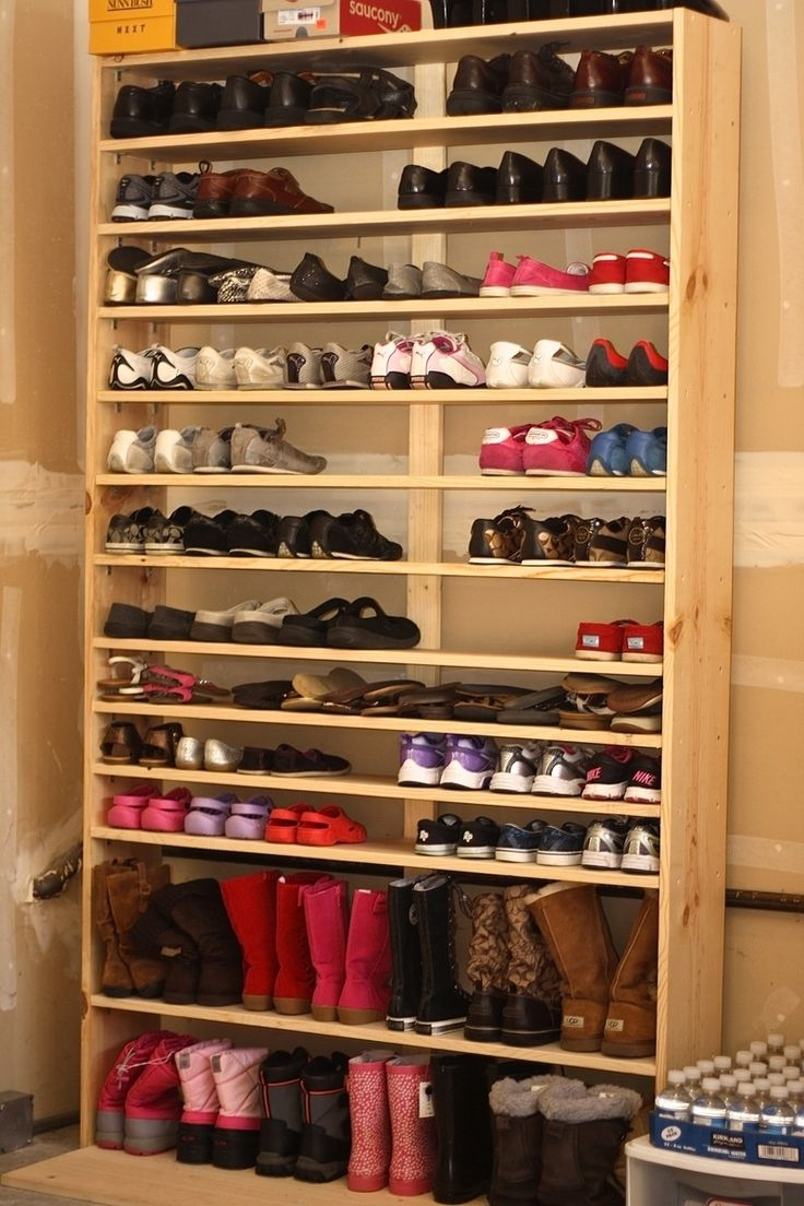 Best 20 Large Shoe Rack Ideas On Pinterest Hanging Shoe Storage For Large Cupboard With Shelves (Image 7 of 25)