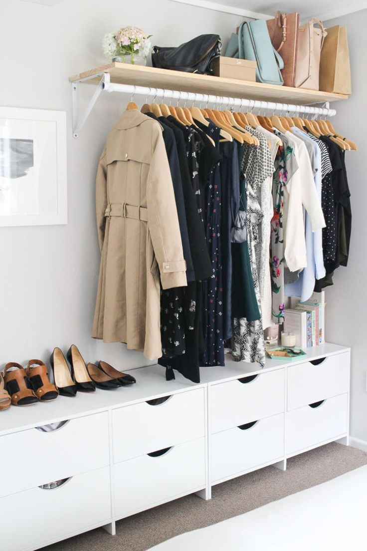 Best 20 No Closet Solutions Ideas On Pinterest No Closet Intended For Wardrobe Hangers Storages (Image 9 of 25)