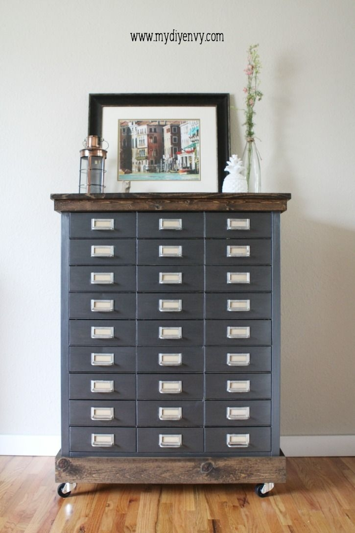 Best 20 Painted File Cabinets Ideas On Pinterest Painting Metal With Filing Cupboards (Image 5 of 25)