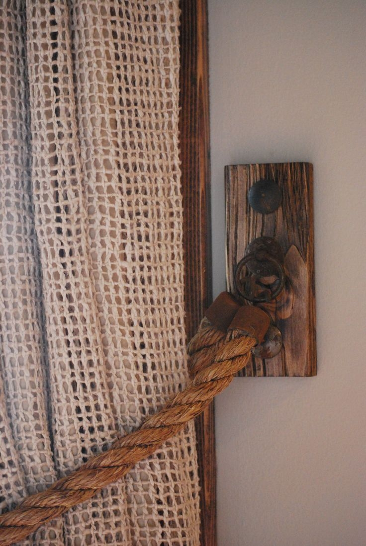 Best 25 Burlap Curtains Ideas On Pinterest Burlap Window Within Burlap Curtains (Image 3 of 25)