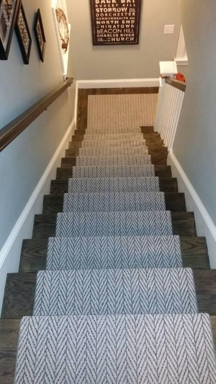 Best 25 Carpet Stair Runners Ideas On Pinterest Hallway Carpet Intended For Basket Weave Washable Indoor Stair Tread Rugs (Image 4 of 15)