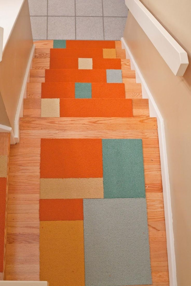 Best 25 Carpet Stair Treads Ideas On Pinterest Wood Stair Throughout Small Stair Tread Rugs (View 13 of 15)