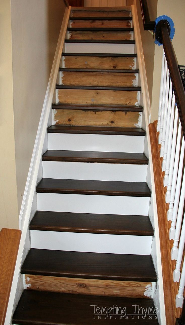 Best 25 Carpet Stair Treads Ideas On Pinterest Wood Stair Within Rustic Stair Tread Rugs (Image 4 of 15)