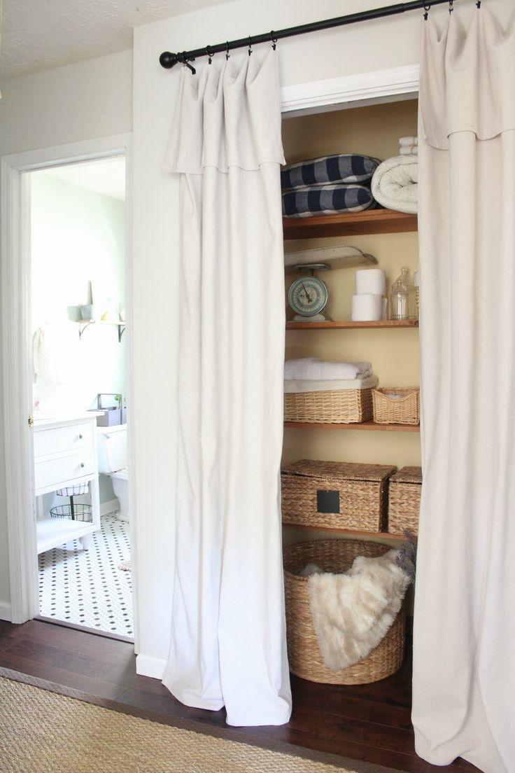 Best 25 Closet Door Curtains Ideas On Pinterest Closet Door Throughout Doorway Curtains (View 14 of 25)