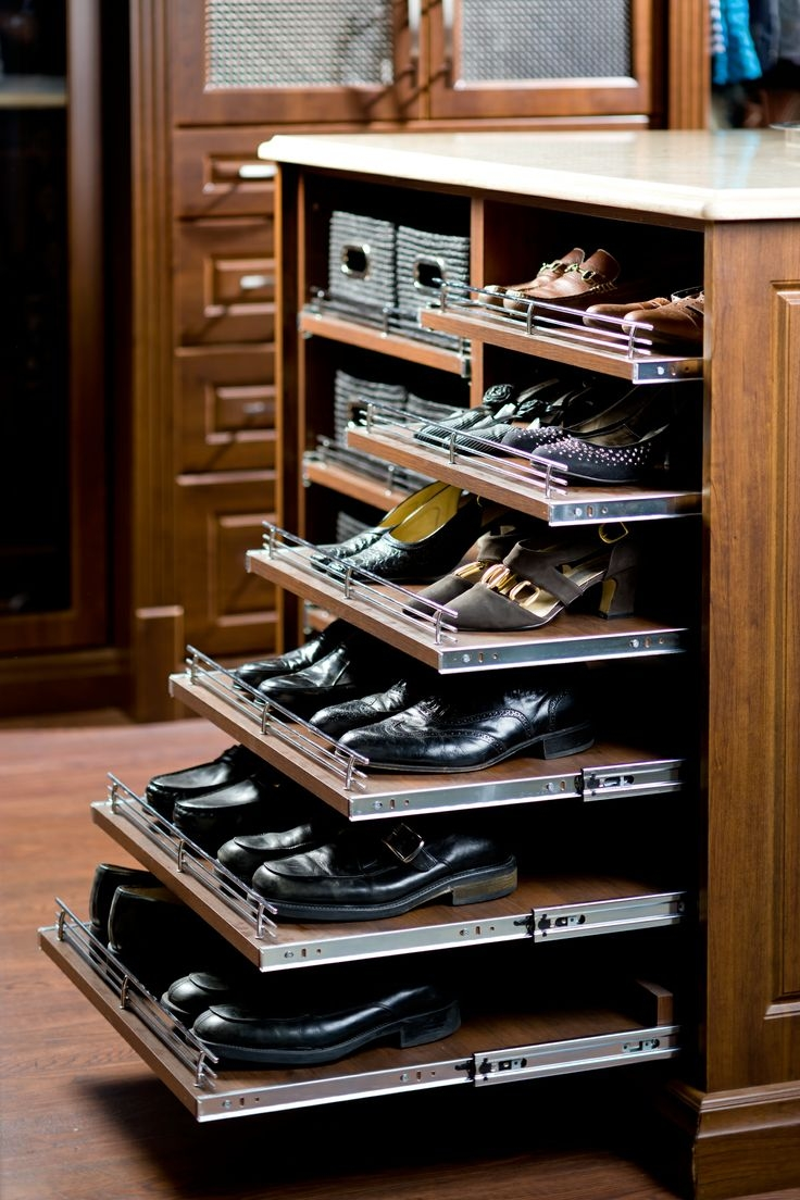 Best 25 Closet Shoe Storage Ideas On Pinterest Shoe Racks For With Wardrobe Shoe Storages (Image 8 of 25)