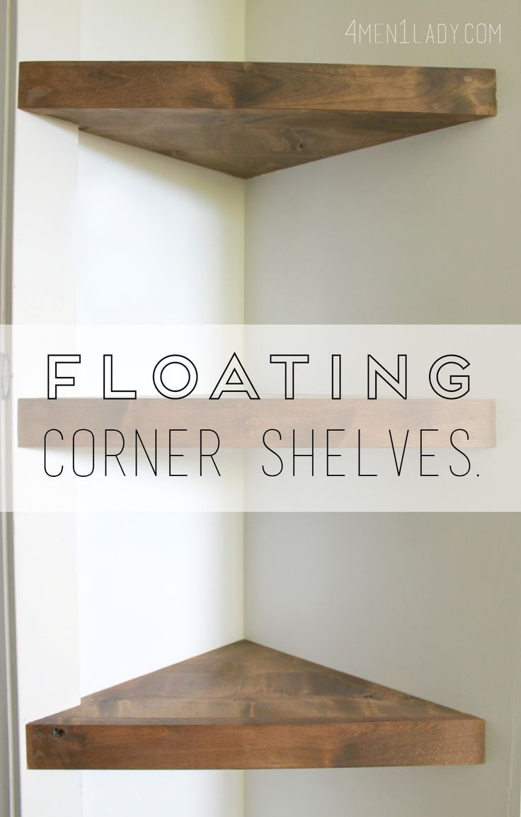 Best 25 Corner Tv Shelves Ideas On Pinterest With Corner Shelf For Dvd Player On Wall (Image 4 of 15)