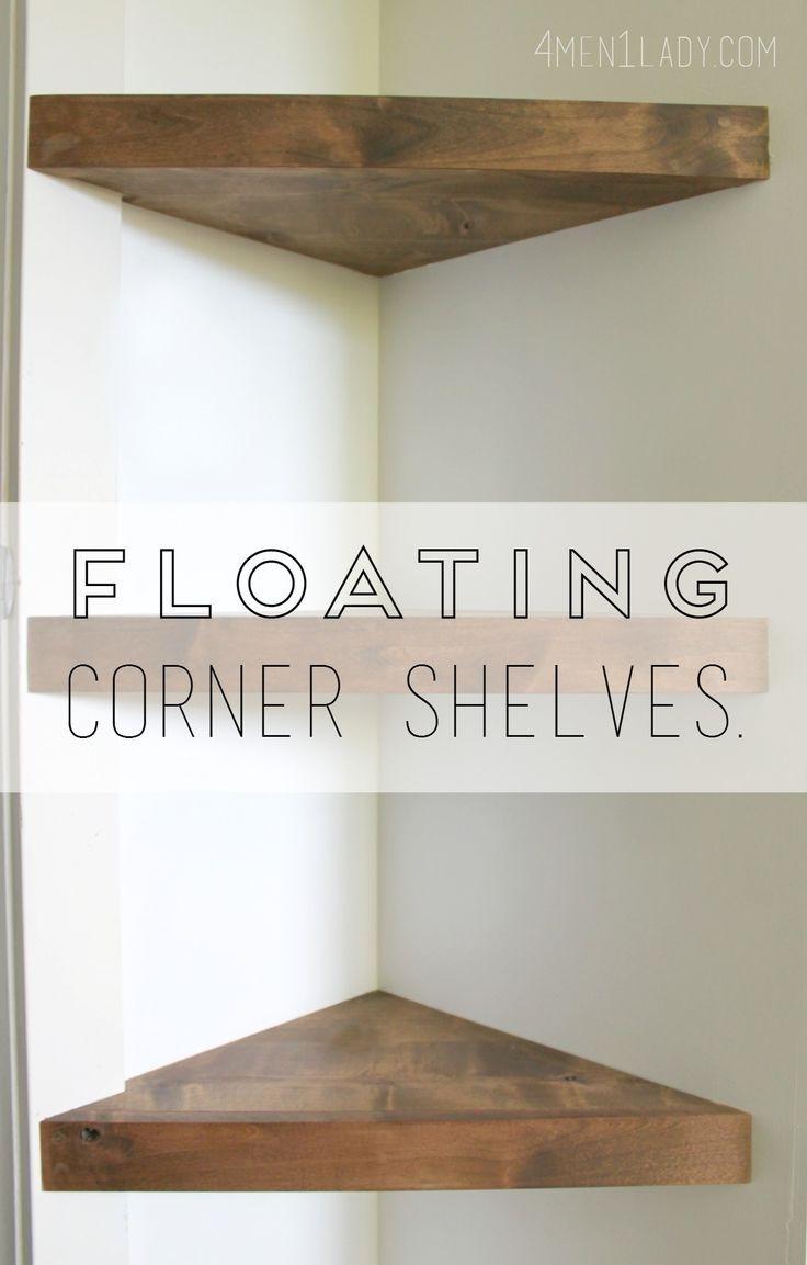 Best 25 Corner Tv Shelves Ideas On Pinterest With Corner Shelf For Dvd Player (View 15 of 15)