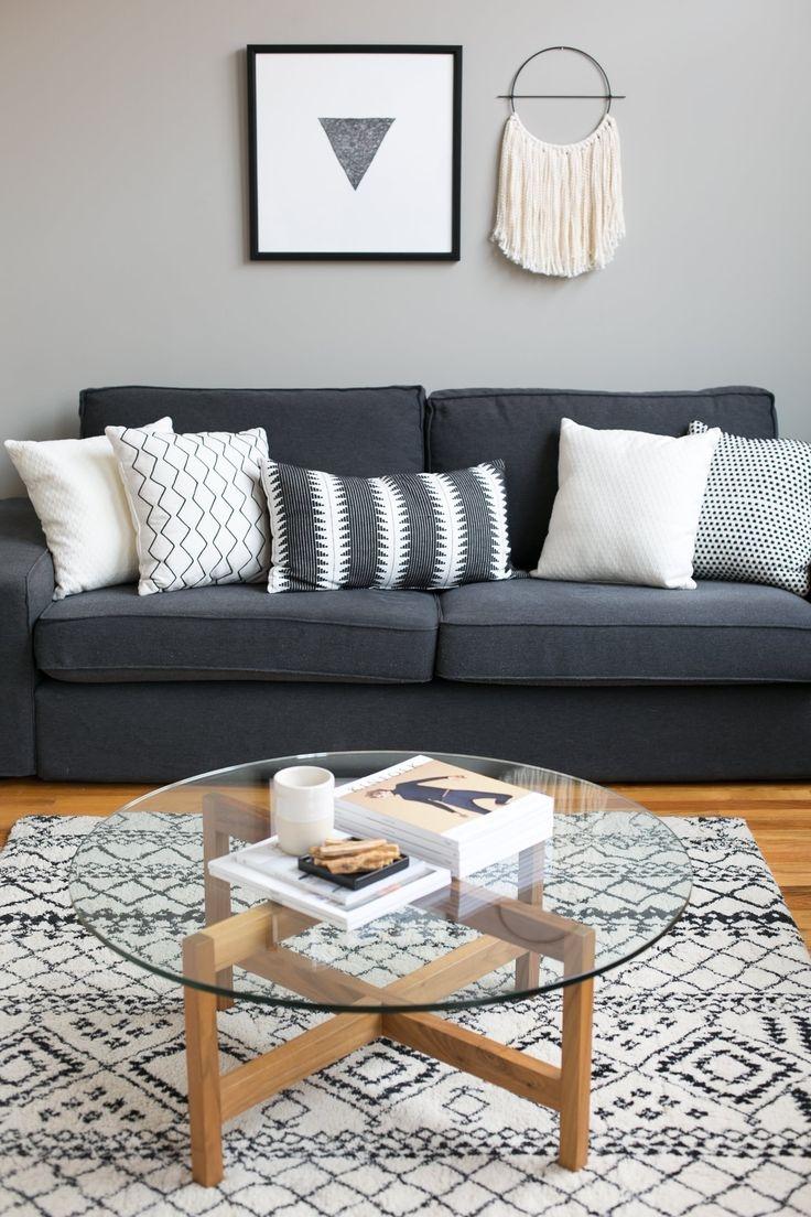 Best 25 Dark Grey Sofas Ideas On Pinterest Grey Sofa Design Regarding Charcoal Grey Sofas (Image 1 of 15)