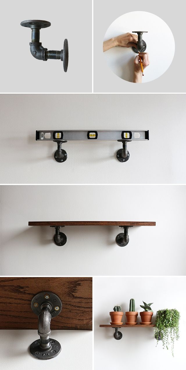 Best 25 Diy Wall Shelves Ideas On Pinterest Regarding Wall Shelves (Image 3 of 15)