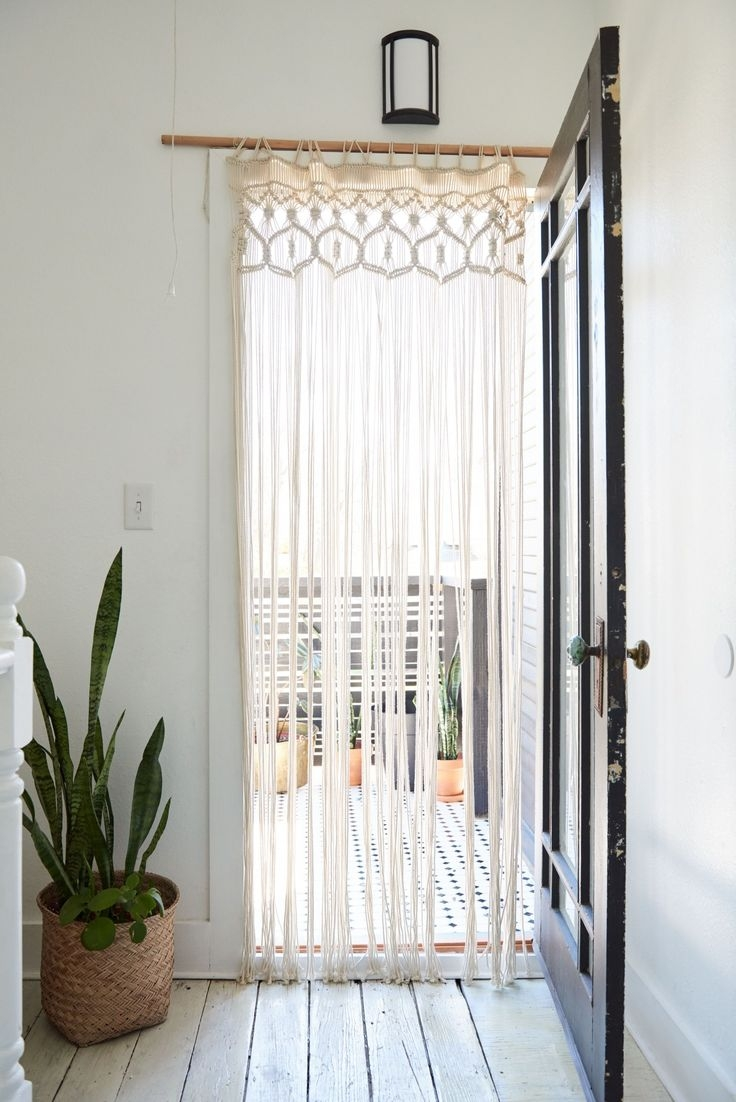 8 Best Panel Curtains Images On Pinterest: 25 Collection Of Doorway Curtains