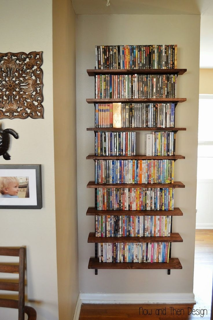 Best 25 Dvd Storage Shelves Ideas On Pinterest Within Invisible Dvd Shelf (Image 3 of 15)