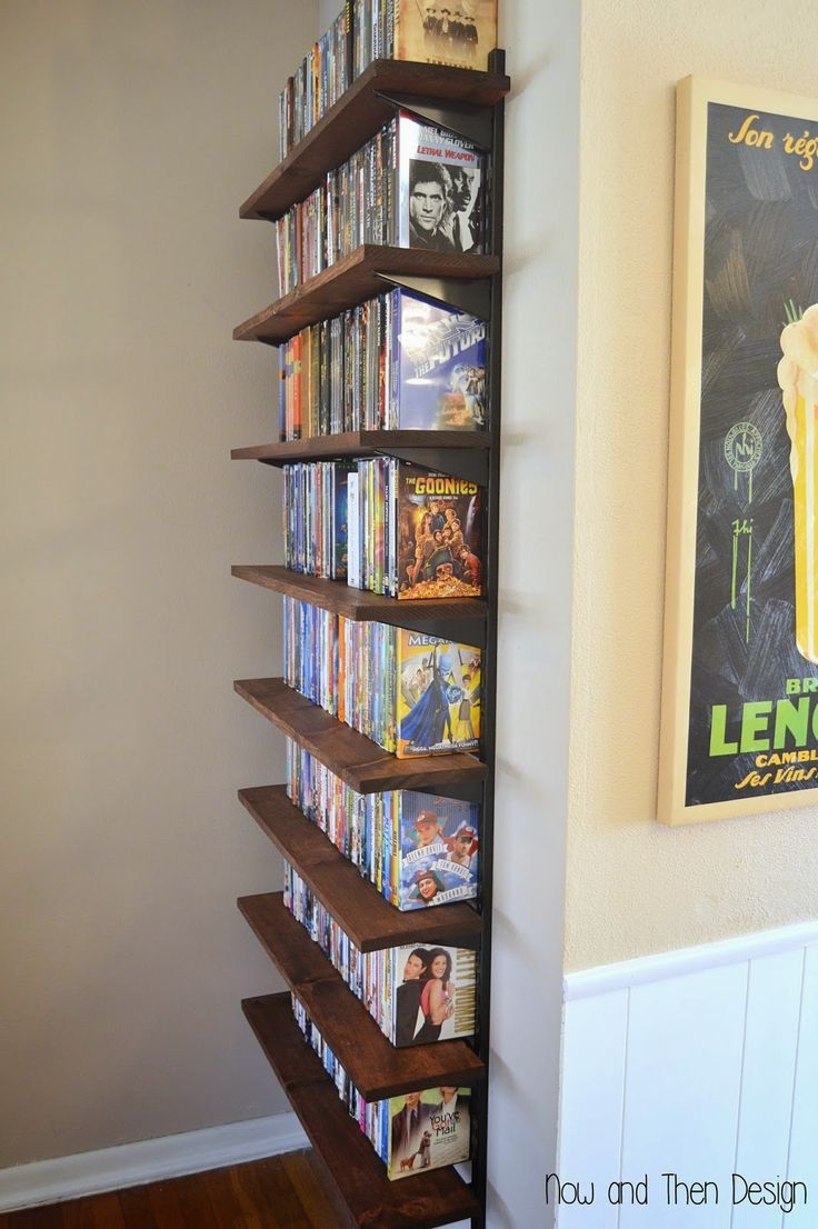 Best 25 Dvd Wall Storage Ideas On Pinterest Dvd Storage Shelves Inside Invisible Dvd Shelf (View 8 of 15)