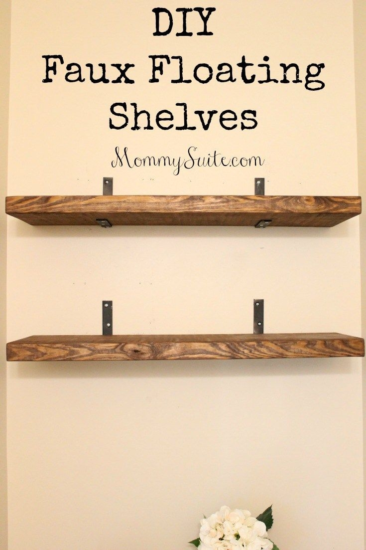 Best 25 Floating Shelves Ideas On Pinterest With Regard To Floating Shelves (Image 4 of 15)