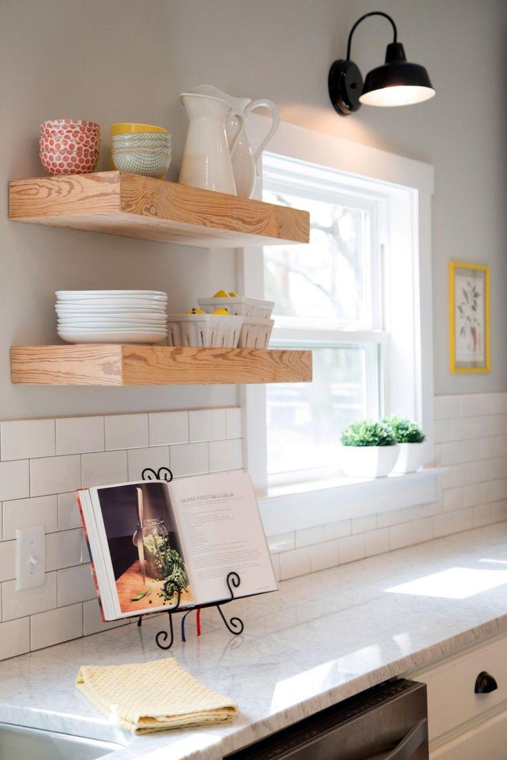 Best 25 Floating Shelves Kitchen Ideas On Pinterest Open For Kitchen Shelves (Image 2 of 15)