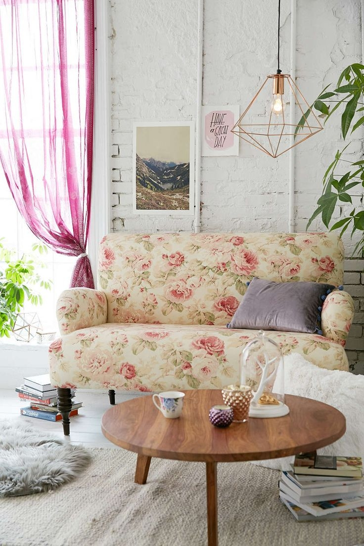 Best 25 Floral Sofa Ideas Only On Pinterest Timorous Beasties With Regard To Yellow Chintz Sofas (Image 5 of 15)