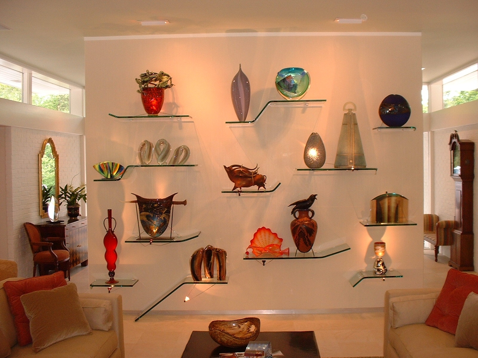 Best 25 Glass Shelves Ideas On Pinterest For Glass Shelves In Living Room (Image 2 of 15)