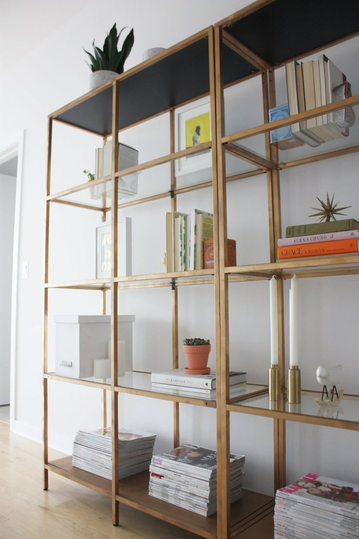 Best 25 Glass Shelves Ideas On Pinterest Regarding Glass Shelves In Living Room (Image 3 of 15)