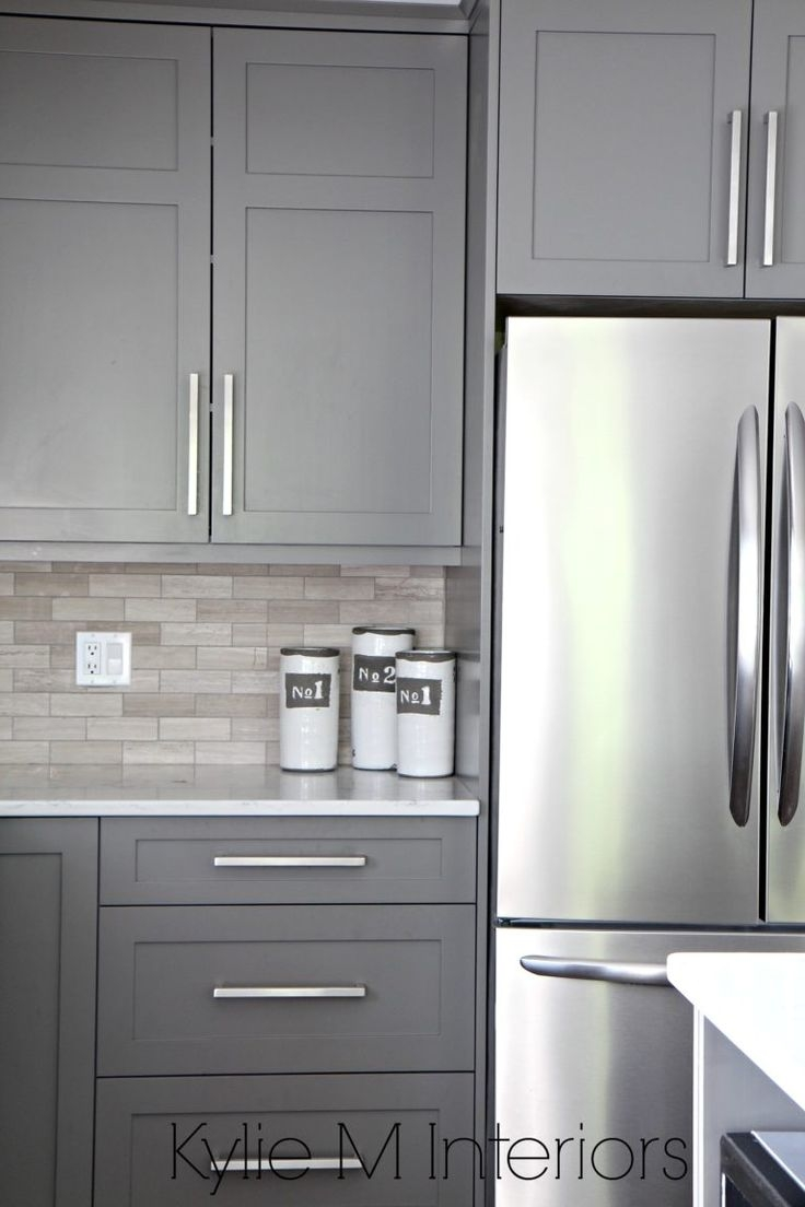 Best 25 Gray Kitchen Cabinets Ideas Only On Pinterest Grey Throughout Kitchen Cupboards (Image 3 of 25)