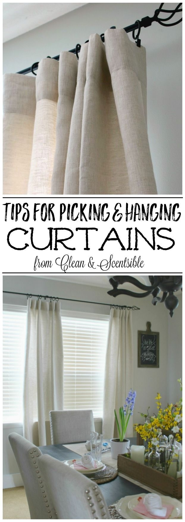 Best 25 How To Hang Curtains Ideas Only On Pinterest Hang For Hanging Curtains (View 13 of 25)