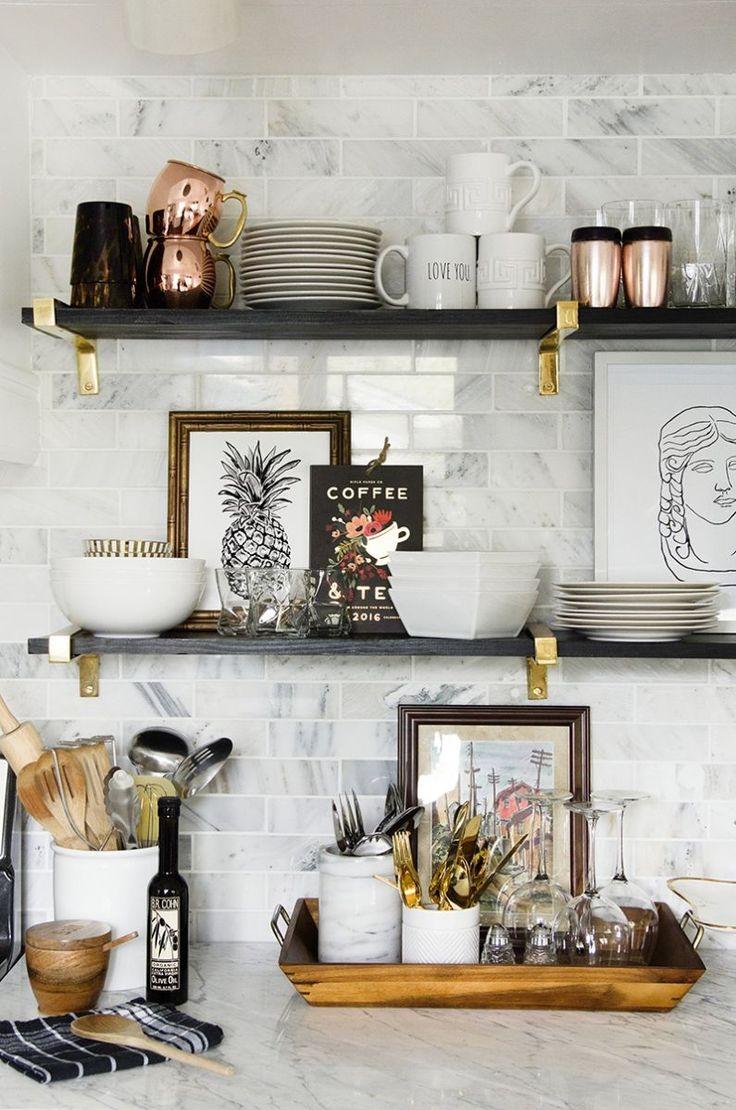 Best 25 Kitchen Shelves Ideas On Pinterest For Kitchen Shelves (Image 3 of 15)