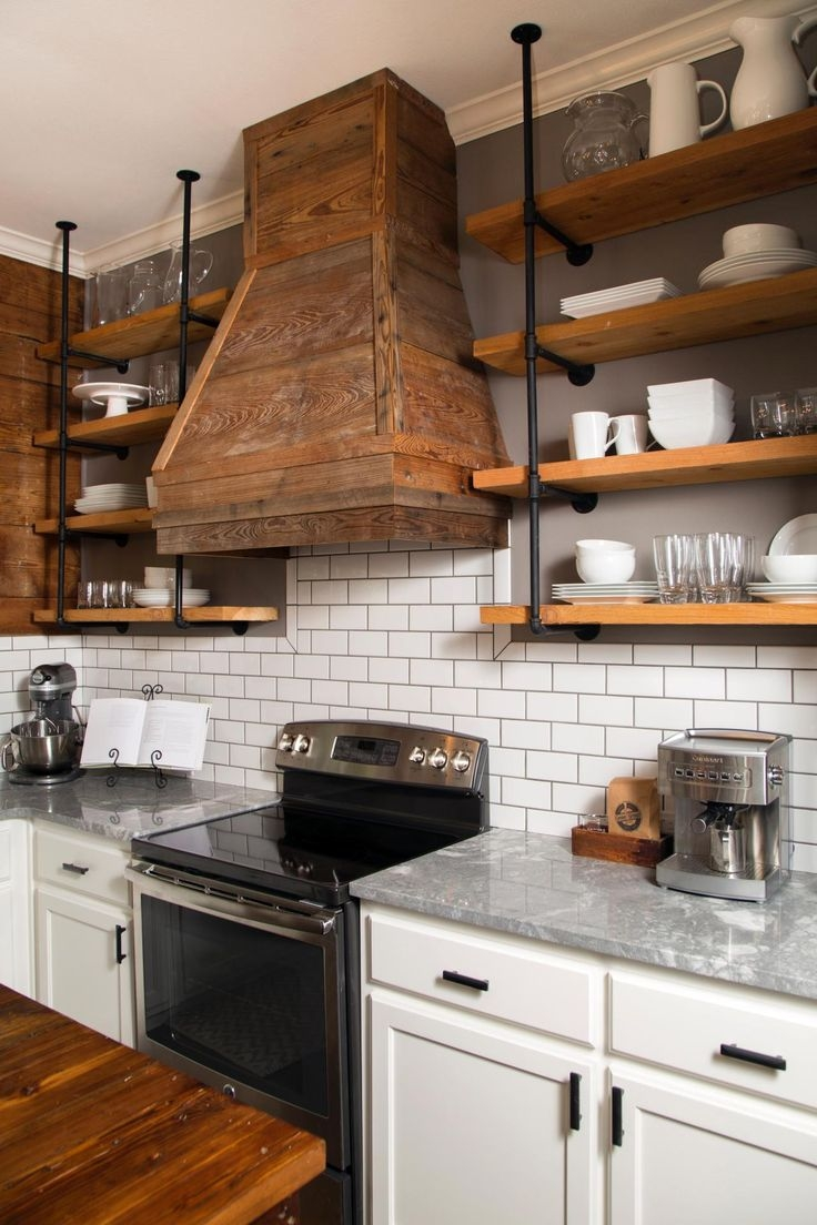 Best 25 Kitchen Shelves Ideas On Pinterest Throughout Kitchen Shelves (Image 5 of 15)