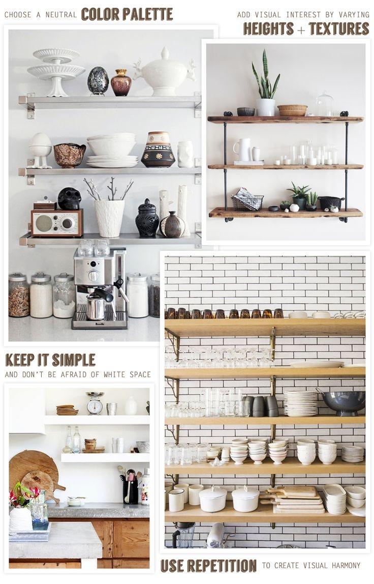 Best 25 Kitchen Shelves Ideas On Pinterest Within Kitchen Shelves (Image 6 of 15)