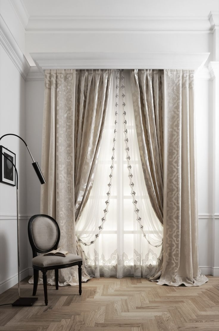 Best 25 Layered Curtains Ideas On Pinterest Window Curtains Regarding Mauve Sheer Curtains (View 13 of 25)