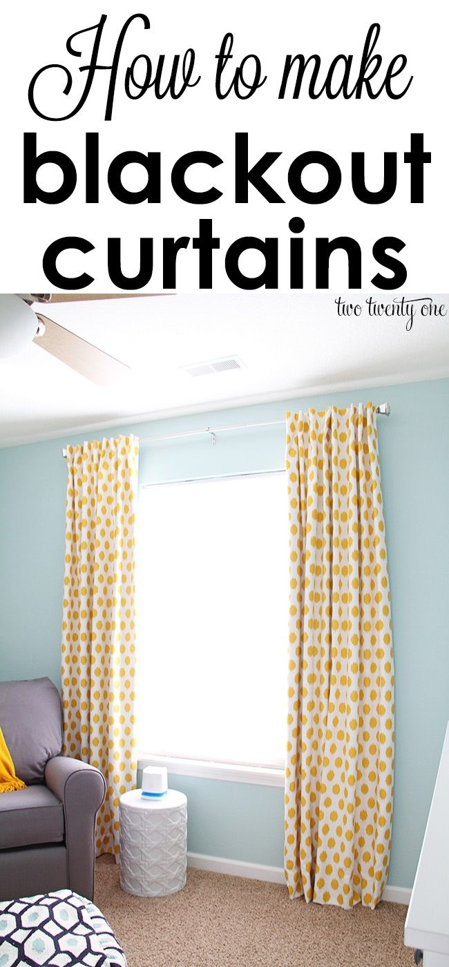 Best 25 Nursery Blackout Curtains Ideas On Pinterest Blackout Within Blackout Curtains For Baby Room (Image 6 of 25)