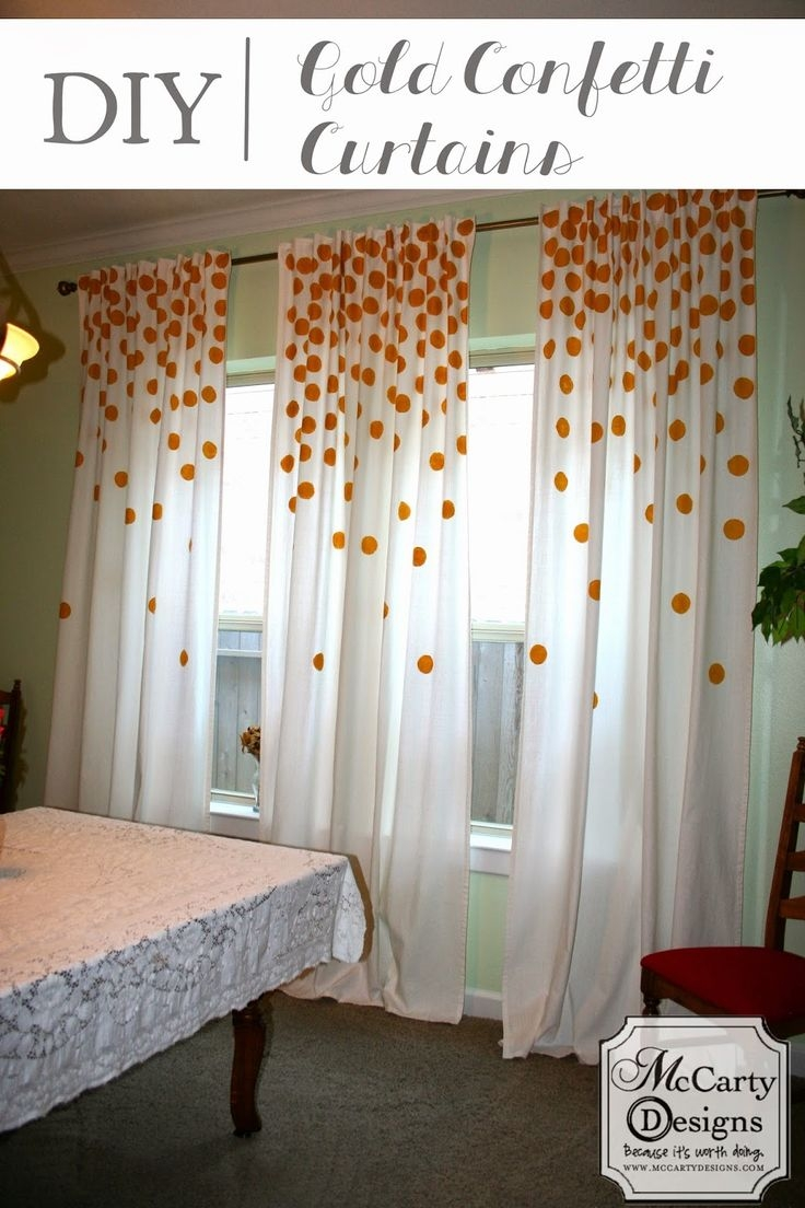 Best 25 Polka Dot Curtains Ideas On Pinterest Polka Dot Bedding Pertaining To Navy And White Polka Dot Curtains (Image 4 of 25)