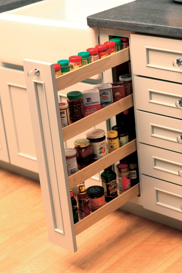 Best 25 Pull Out Spice Rack Ideas On Pinterest Spice Cabinets For Cupboard Drawers (Image 6 of 25)