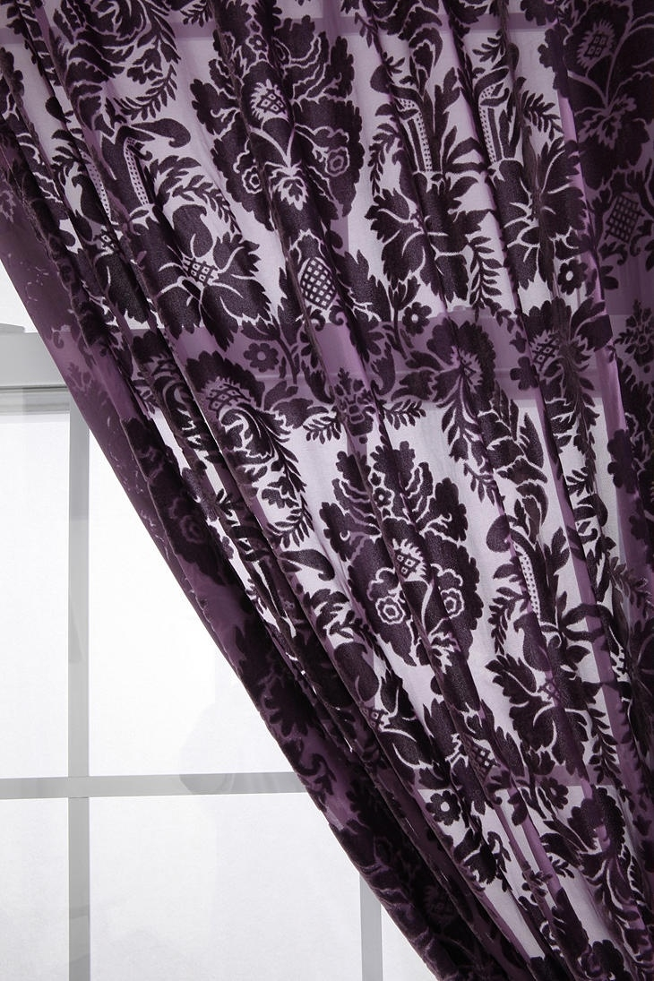 Best 25 Purple Curtains Ideas On Pinterest Purple Bedroom For Mauve Sheer Curtains (View 8 of 25)