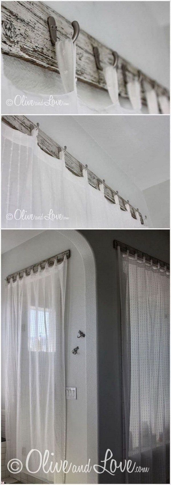 Best 25 Shower Curtain Rods Ideas On Pinterest Farmhouse Shower With L Curtain Rods (Image 3 of 25)