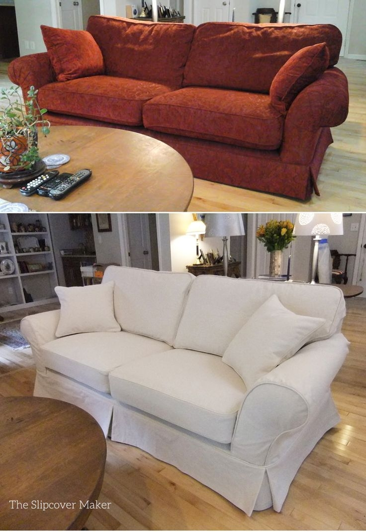 Best 25 Sofa Slipcovers Ideas On Pinterest Slipcovers Chair Intended For Chintz Covered Sofas (Image 2 of 15)