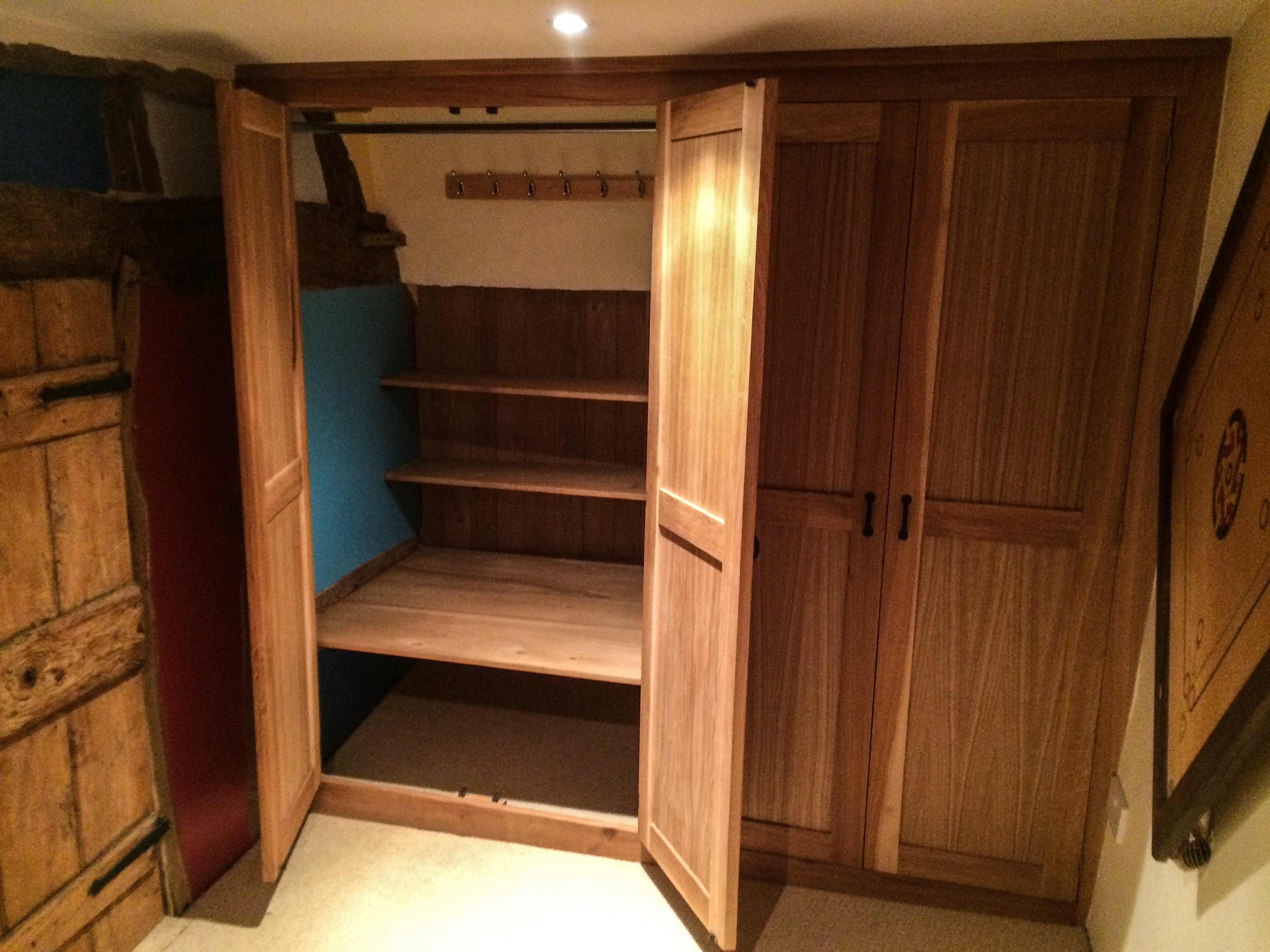 Best 25 Solid Oak Wardrobe Ideas On Pinterest Pertaining To Solid Wood Built In Wardrobes (Image 3 of 15)