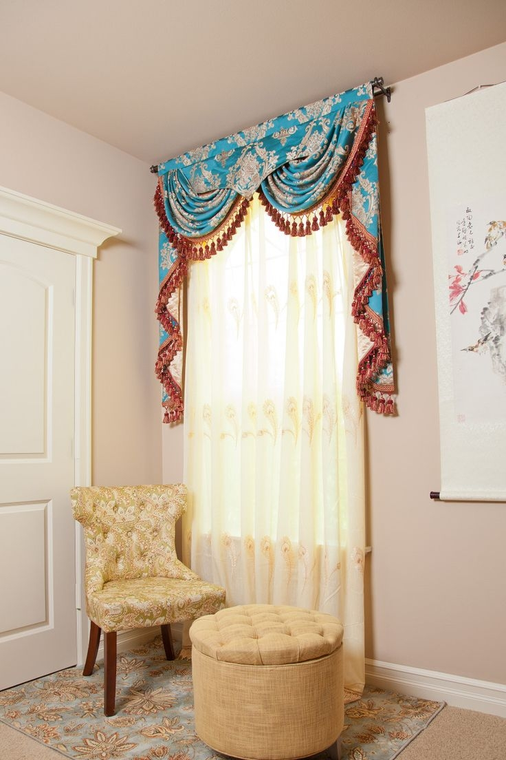 25 Best Ideas About Home Interior Design On Pinterest: Top 25 Valance Curtain Ideas