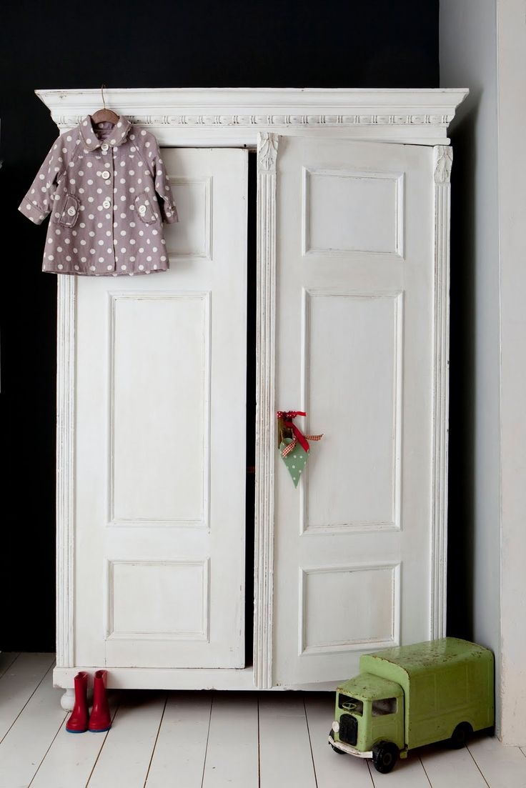 Best 25 Vintage Wardrobe Ideas That You Will Like On Pinterest Intended For White Wardrobe Armoire (Image 7 of 25)