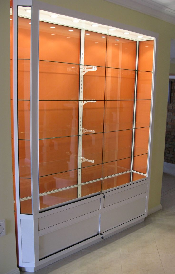 Best 25 Wall Mounted Display Cabinets Ideas On Pinterest Regarding Wall Mounted Glass Display Shelves (Image 2 of 15)