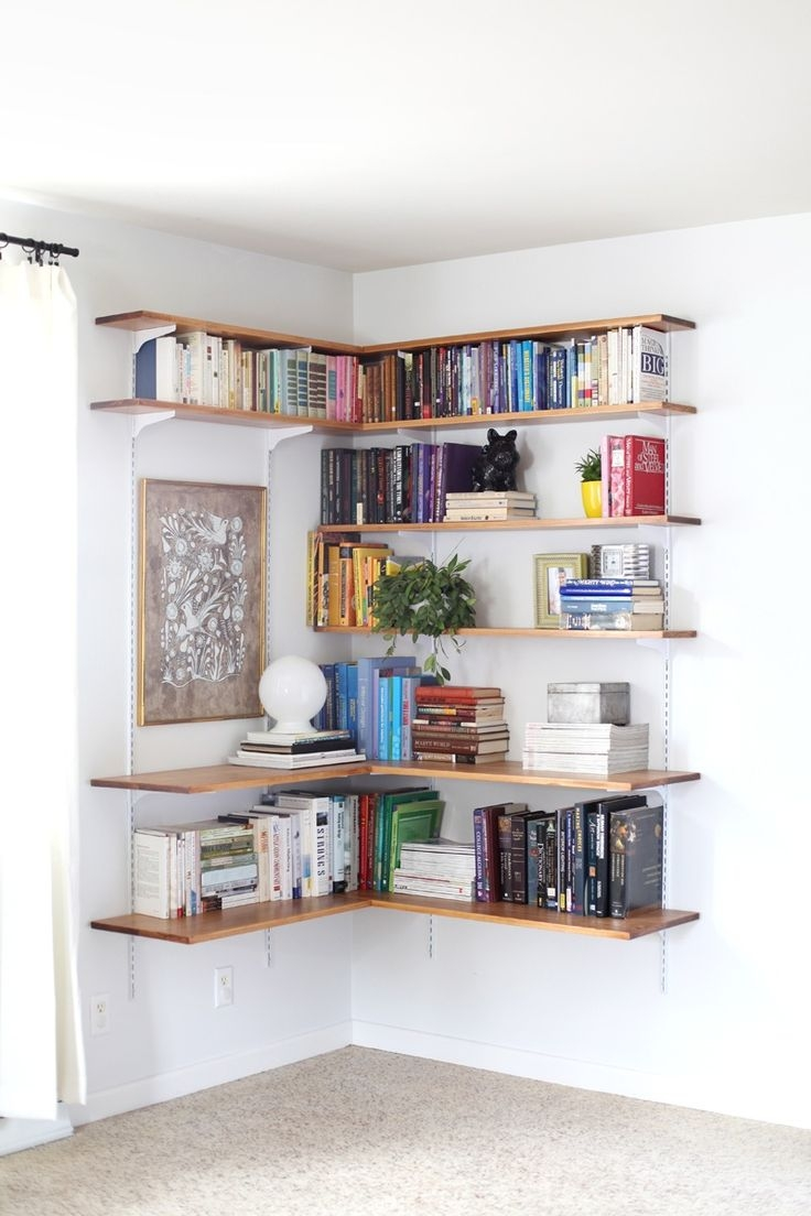 Best 25 Wall Mounted Shelves Ideas On Pinterest Pertaining To Wall Mounted Shelves (Image 1 of 15)