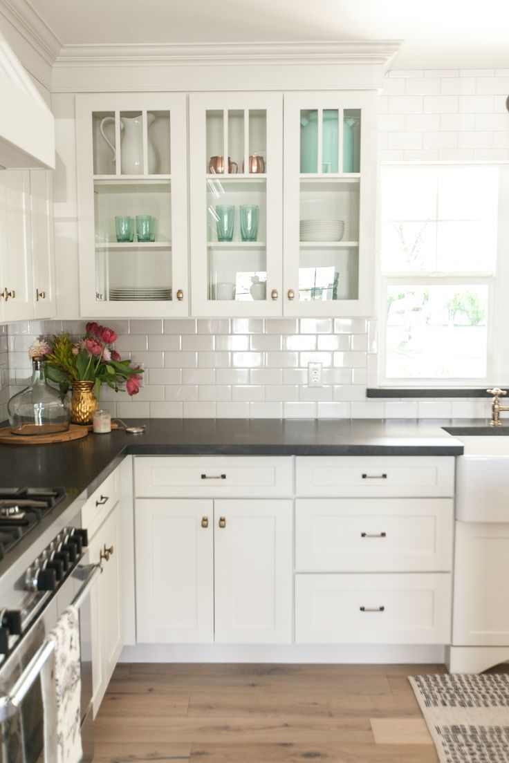 Best 25 White Kitchen Cabinets Ideas On Pinterest Kitchens With Within Kitchen Cupboards (View 21 of 25)