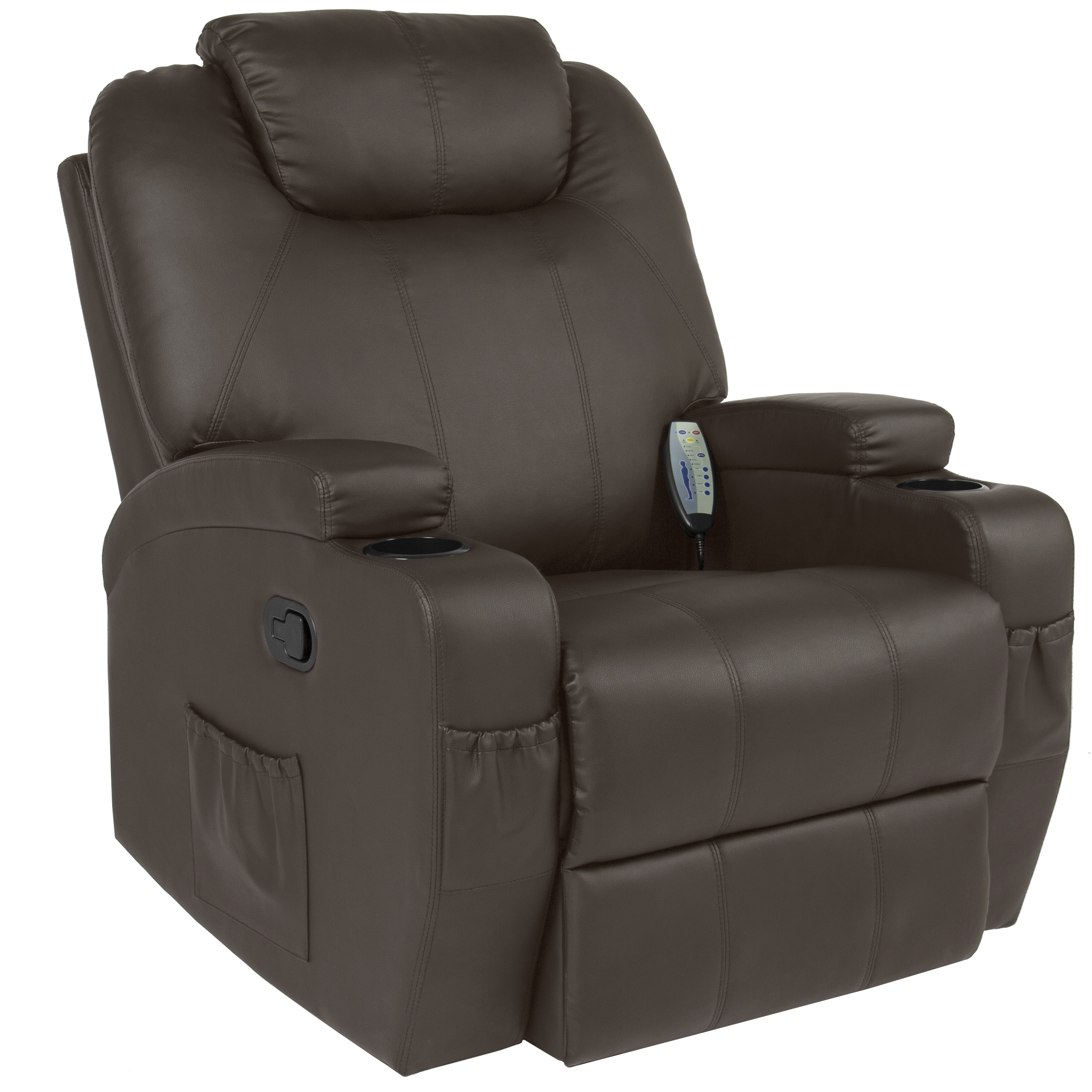 Best Choice Products Massage Recliner Sofa Chair Heated W Control Intended For Sofa Chair Recliner (Image 1 of 15)