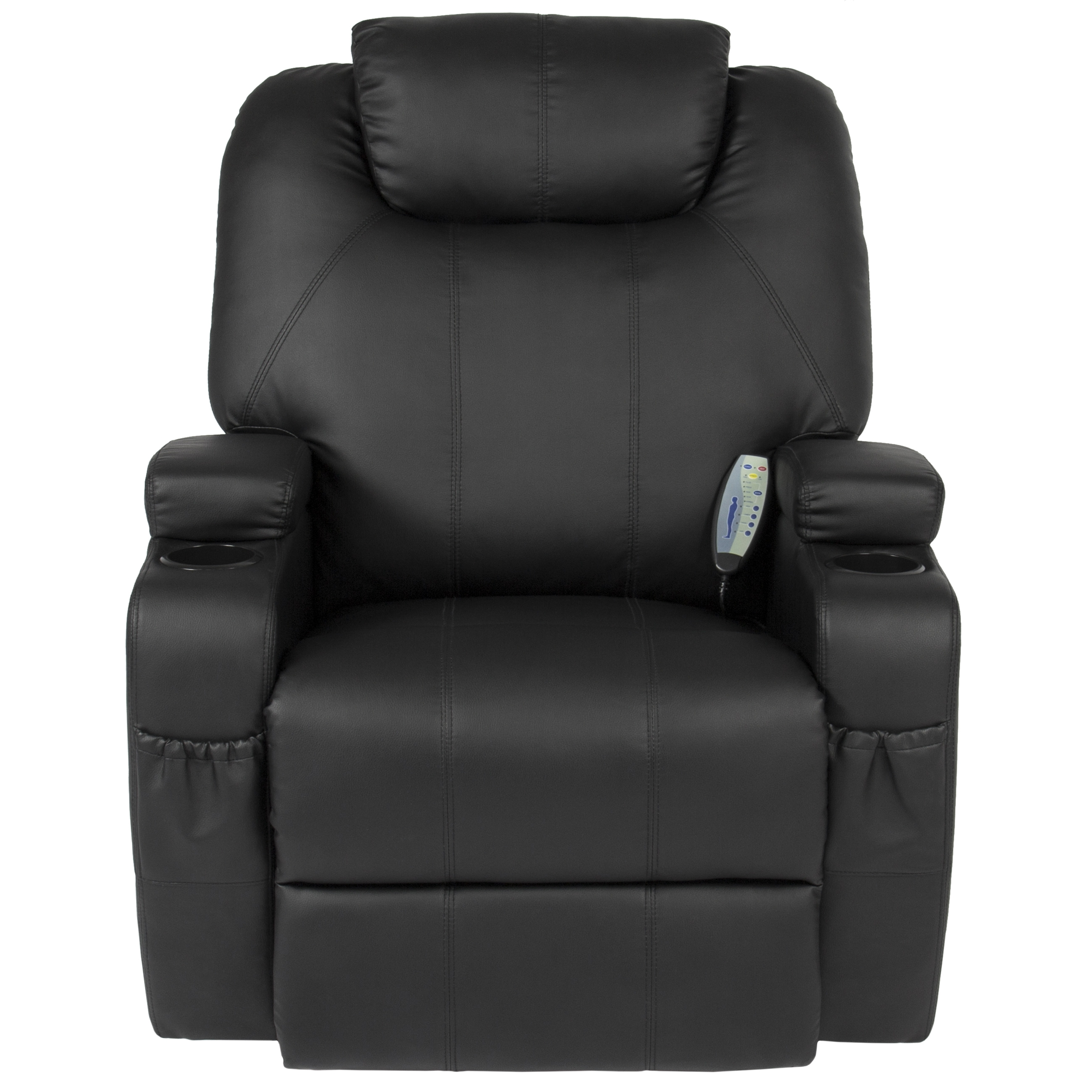 Best Choice Products Massage Recliner Sofa Chair Heated Wcontrol Regarding Sofa Chair Recliner (Image 2 of 15)