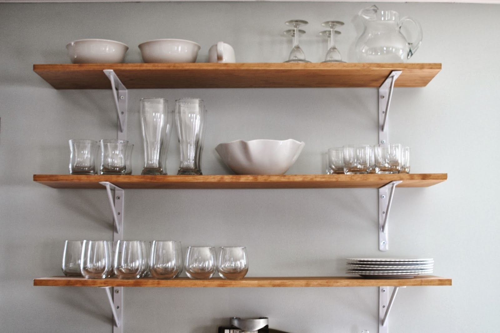 Best Kitchen Wall Shelves Contemporary Aisling Aisling In Kitchen Wall Shelves (Image 5 of 15)