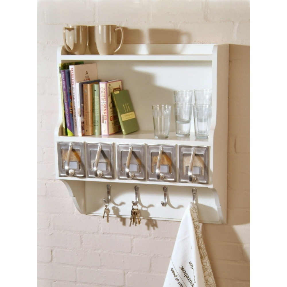 Best Kitchen Wall Shelves Contemporary Aisling Aisling With Kitchen Wall Shelves (Image 7 of 15)