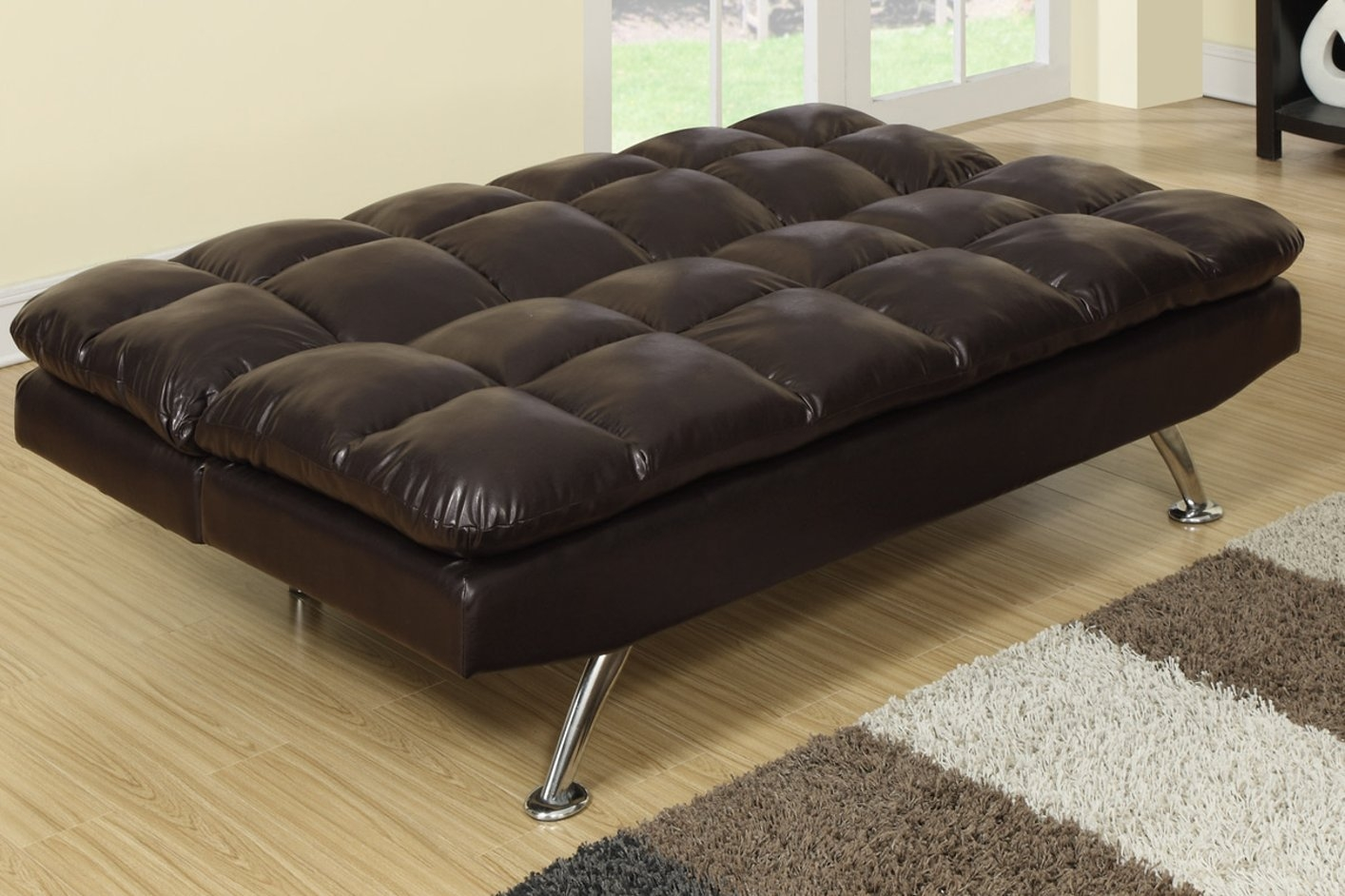 Best Leather Twin Sofa Sleeper Contemporary Design Ideas Within Twin Sofa Chairs (Image 2 of 15)